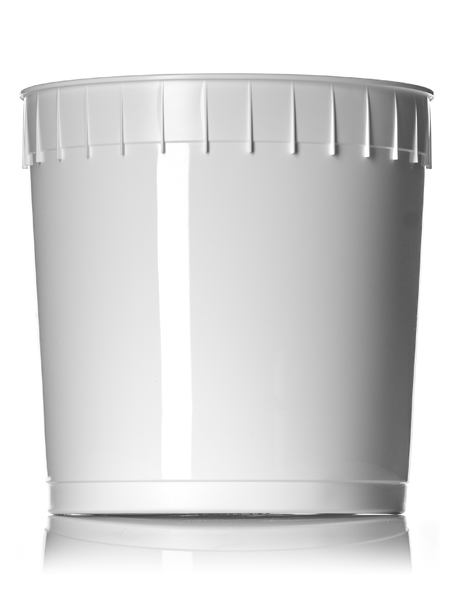 ROPAK 2.5 GAL CONTAINER PLSTC