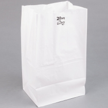 PAPER BAG 20# WHITE