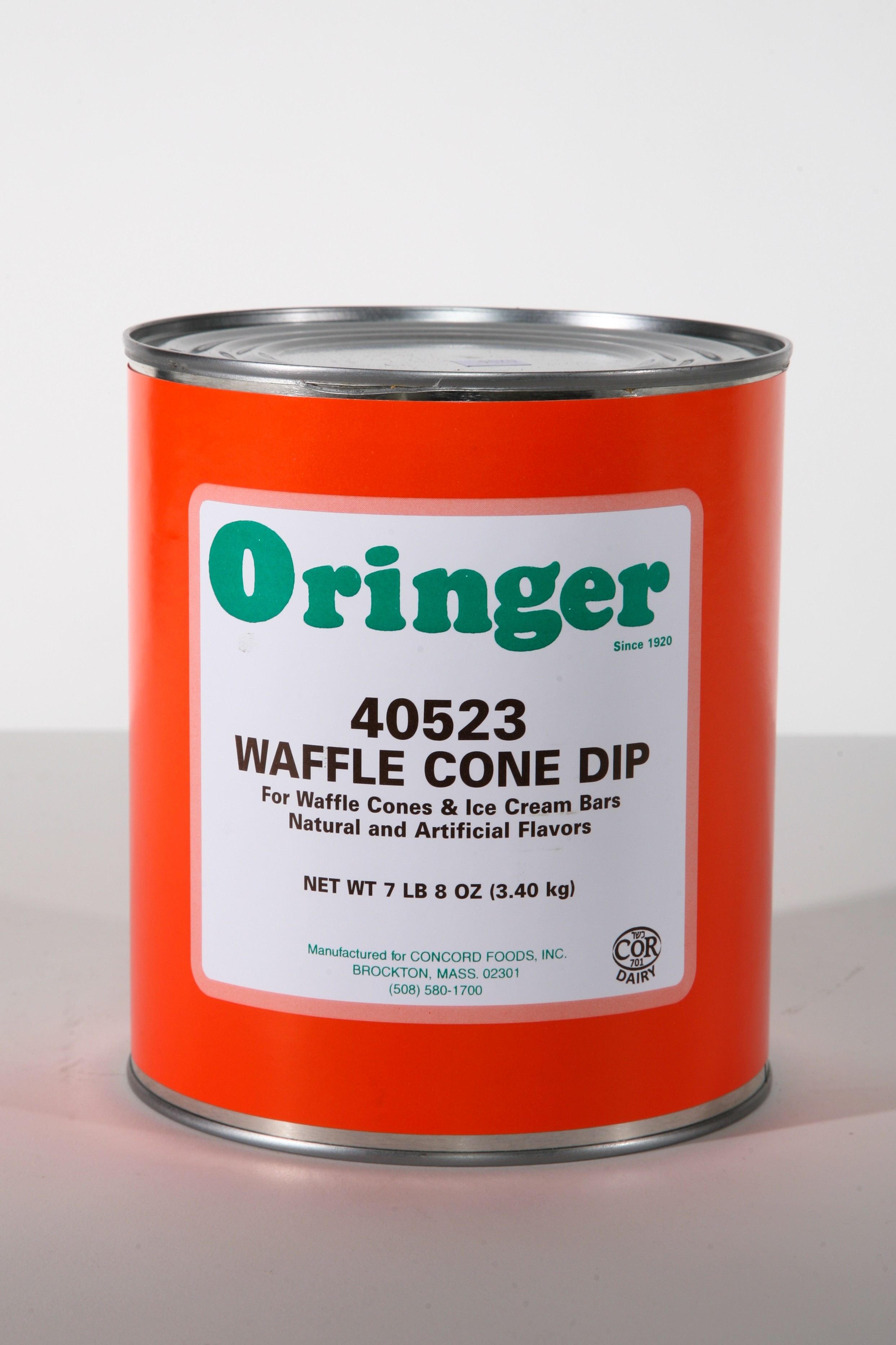 ORG WAFFLE CONE DIP