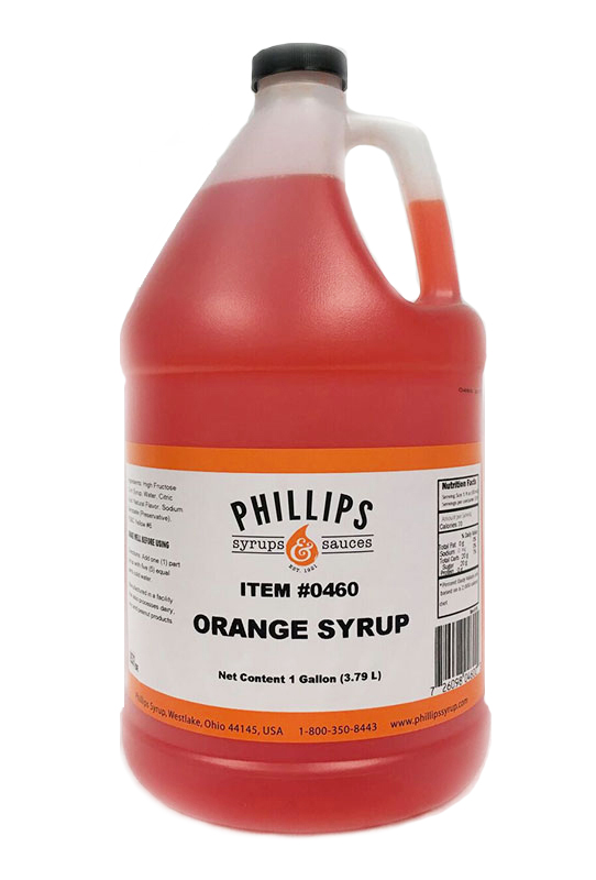 PHILLIPS ORANGE SYRUP