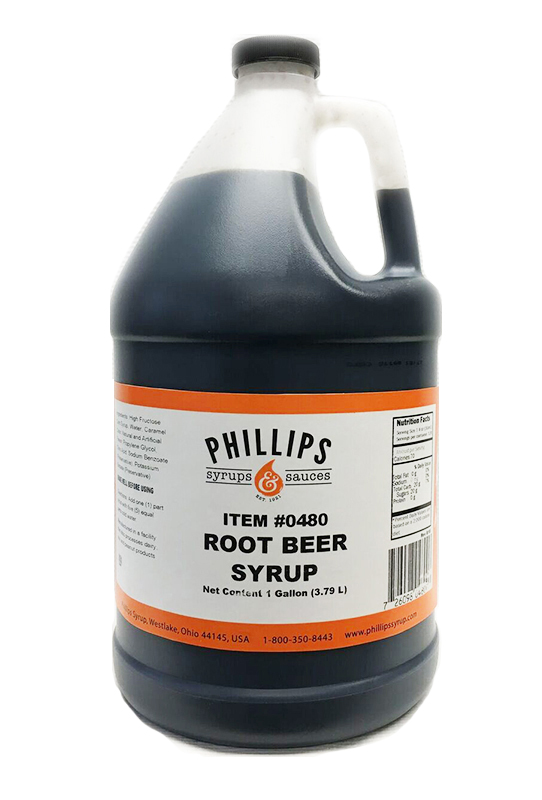 PHILLIPS ROOT BEER SYRUP