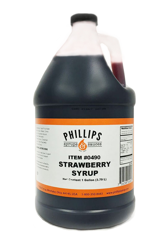 PHILLIPS STRAWBERRY SYRUP