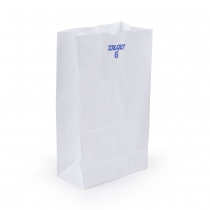 PAPER BAG  6# WHITE