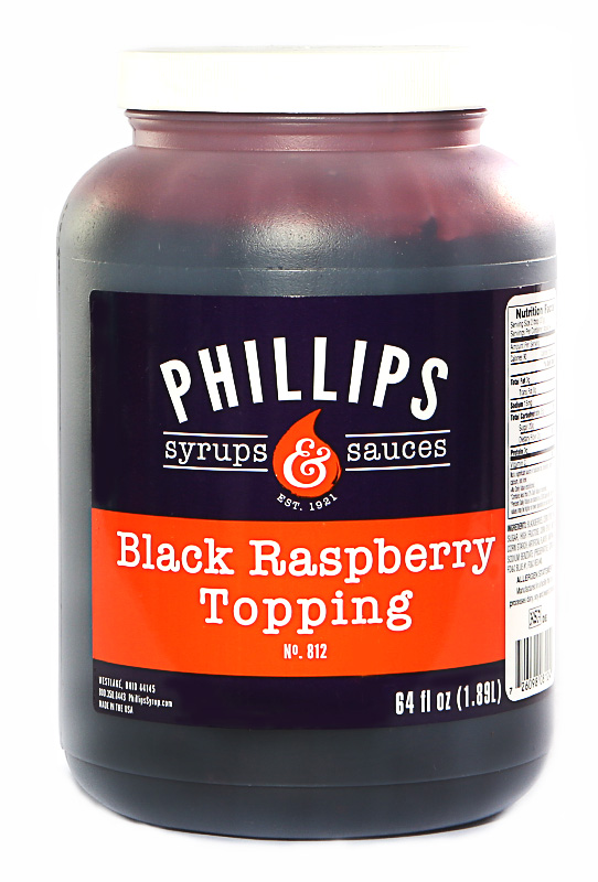 PHILLIPS BLK RASP TOPG W/SEEDS