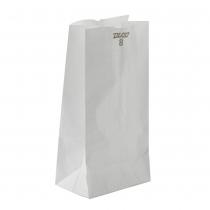 PAPER BAG  8# WHITE