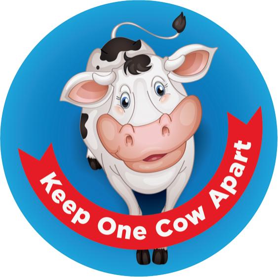 OUTDOOR S/DIS ROUND COW FACE