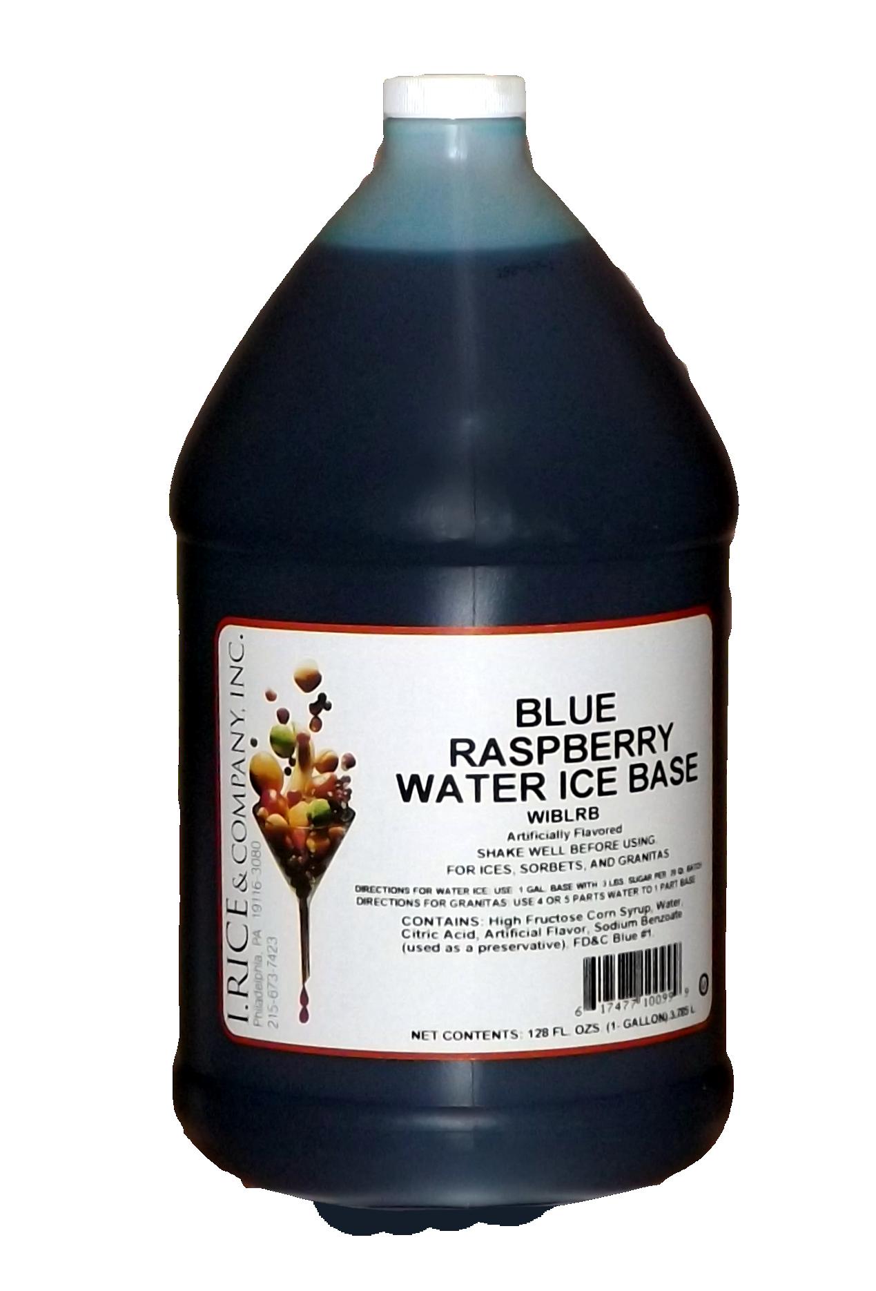 RICE BLUE RASPB ICE BASE