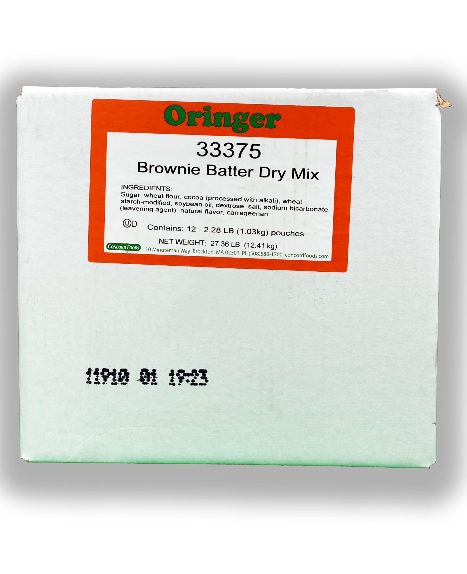 ORG POWDER BROWNIE BTR IC BASE
