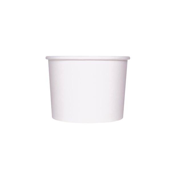 PAPER FOOD CUP 10 OZ-WHITE