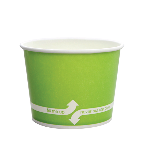 PAPER FOOD CUP 12 OZ- GREEN