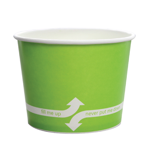 PAPER FOOD CUP 16 OZ- GREEN