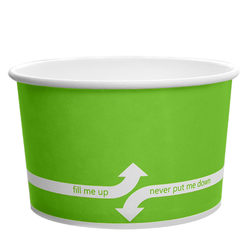 PAPER FOOD CUP 20 OZ- GREEN