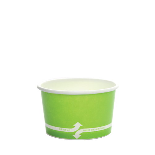 PAPER FOOD CUP 4 OZ- GREEN