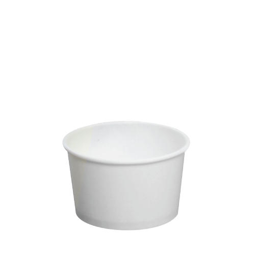 PAPER FOOD CUP 4 OZ-WHITE
