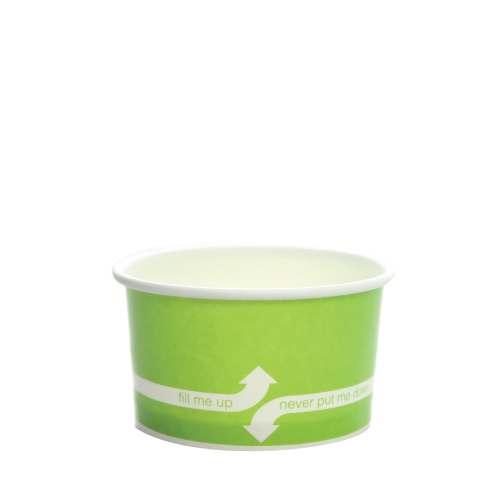 PAPER FOOD CUP 5 OZ- GREEN