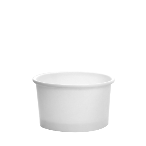PAPER FOOD CUP 5 OZ- WHITE