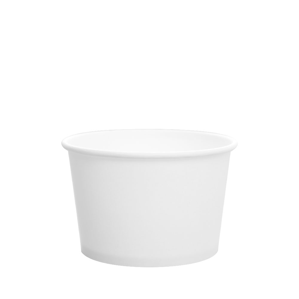 PAPER FOOD CUP 8 OZ- WHITE