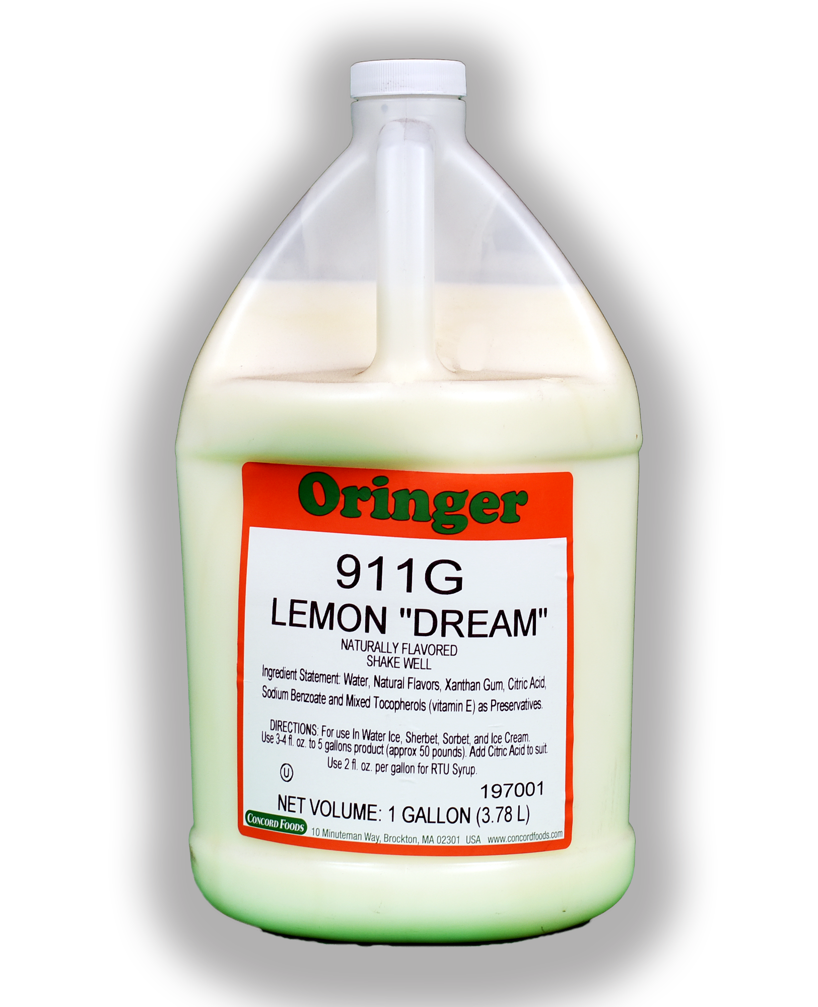 ORG LEMON DREAM FLAVOR