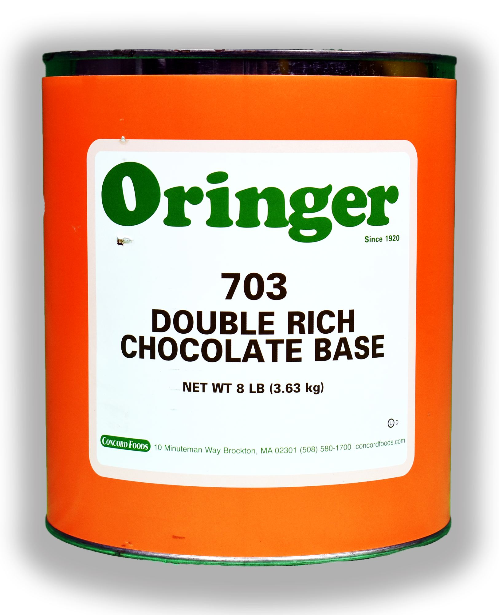 ORG DBL RICH CHOC IC BASE