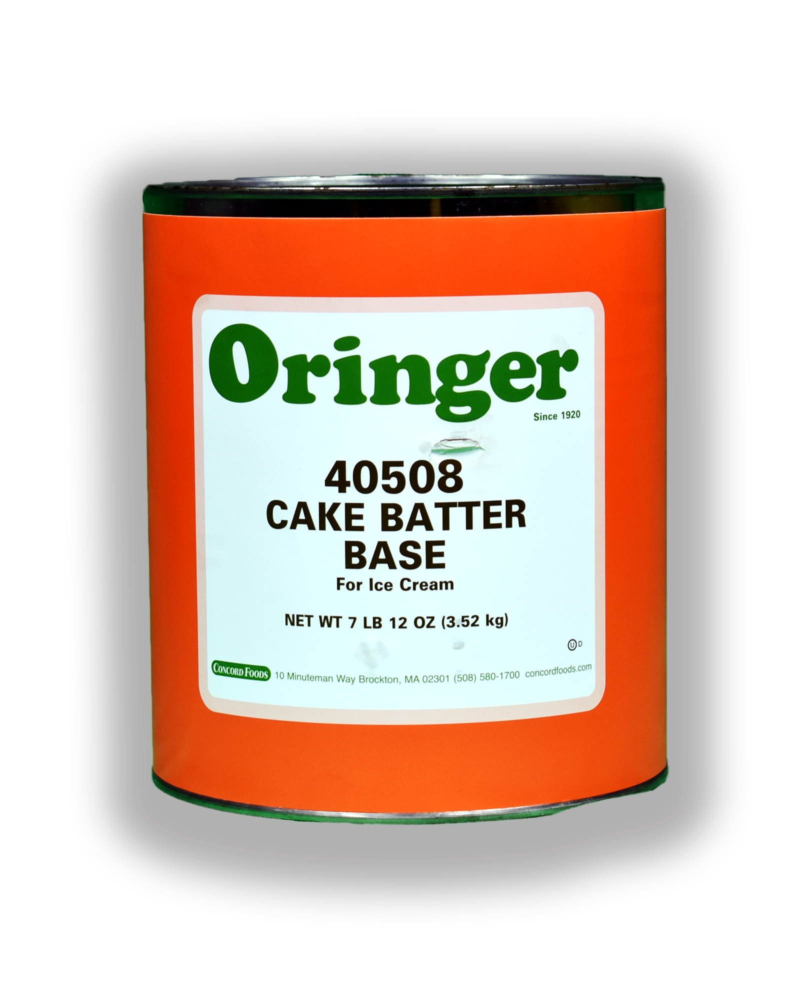 ORG CAKE BATTER IC BASE