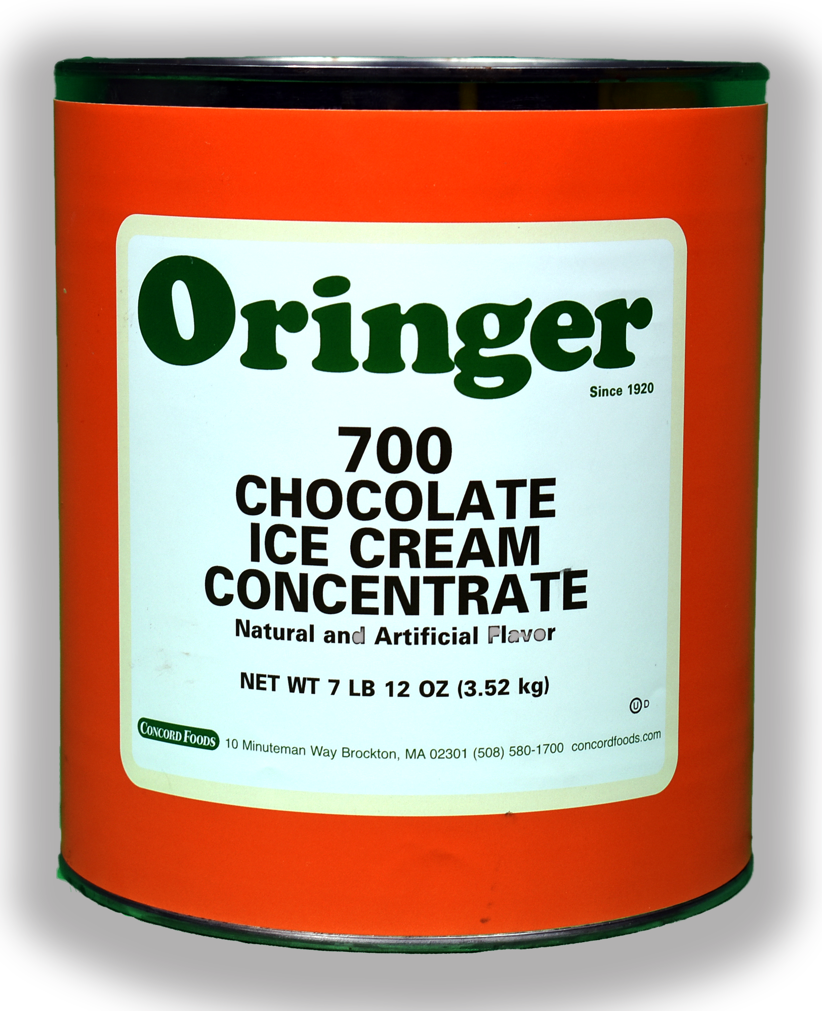 ORG CHOCOLATE I.C. BASE