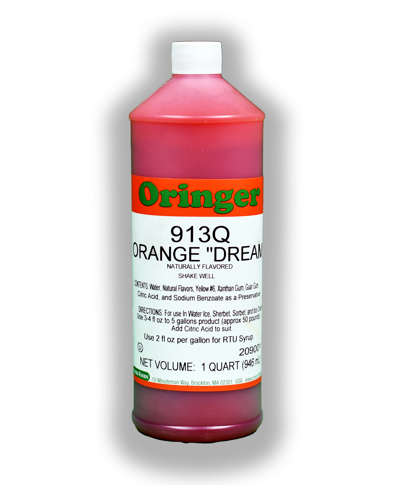 ORG ORANGE DREAM FLAVOR