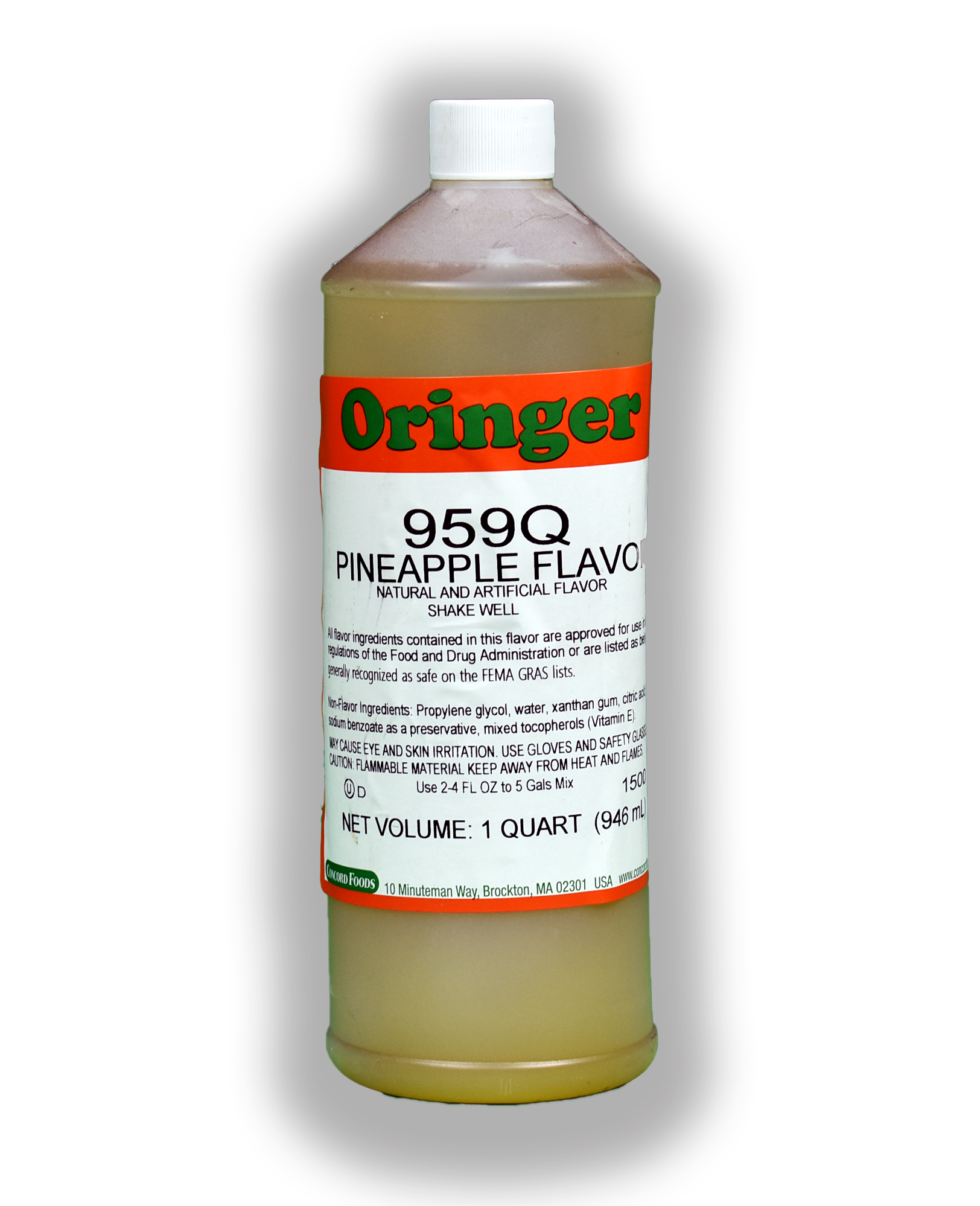 ORG PINEAPPLE FLAVOR