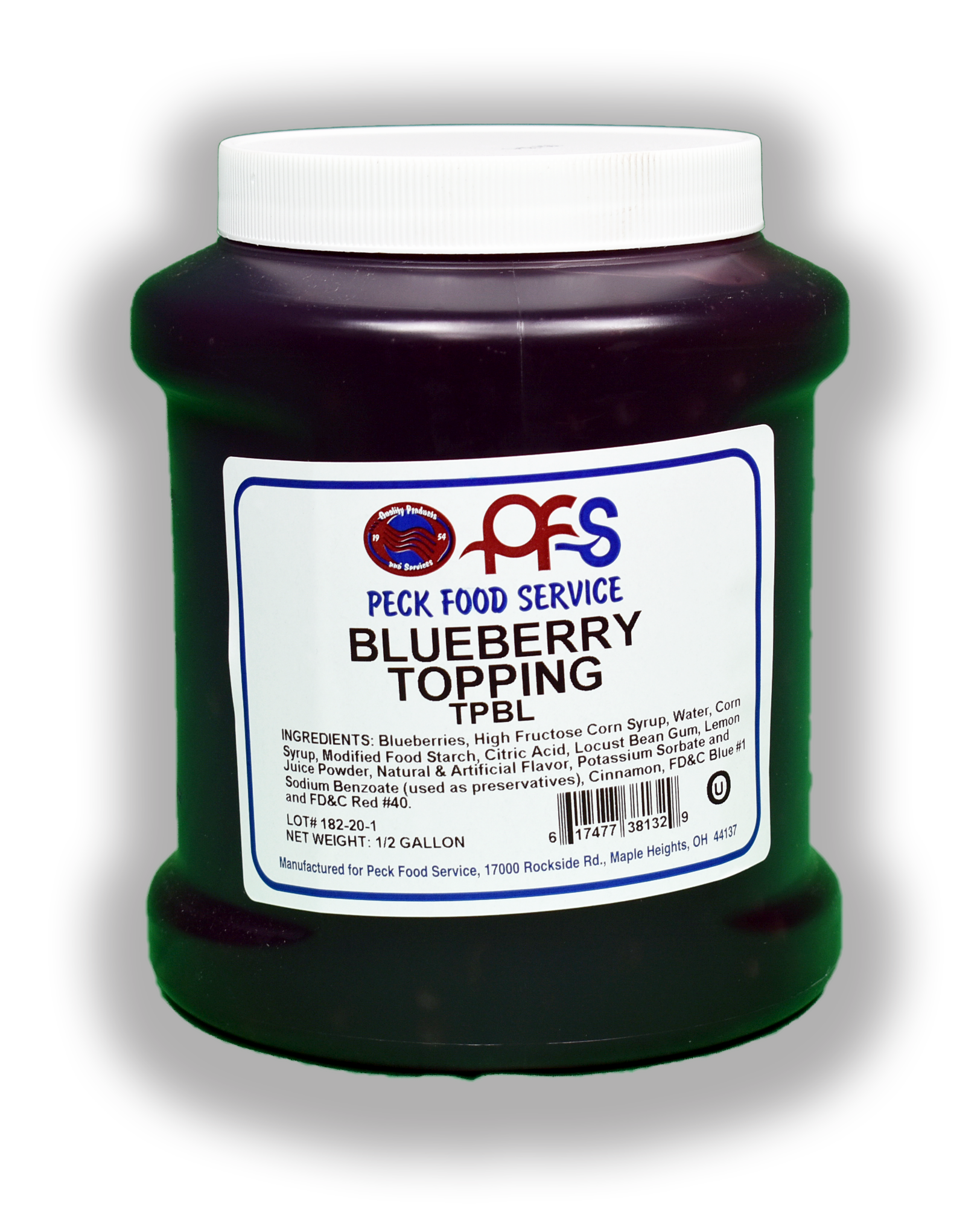 PECK BLUEBERRY TOPPING