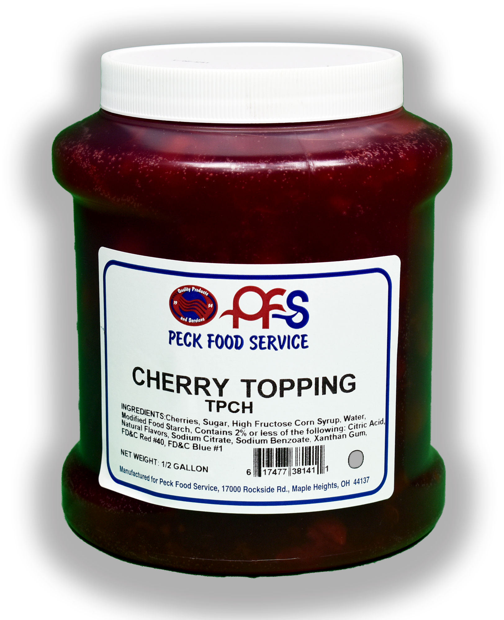 PECK WILD CHERRY TOPPING