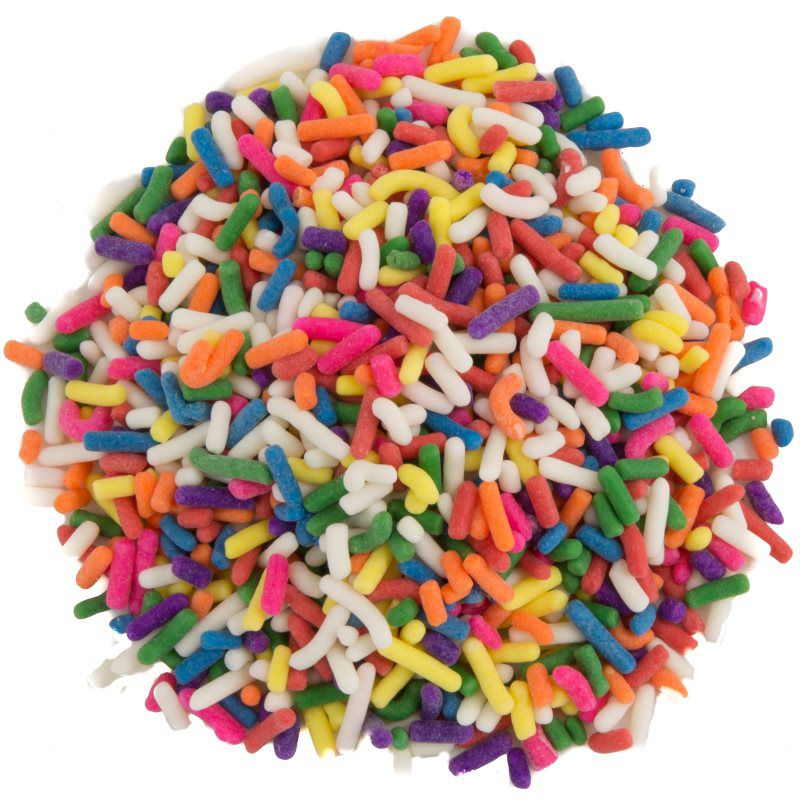 RAINBOW SPRINKLES 0347  8 COLOR