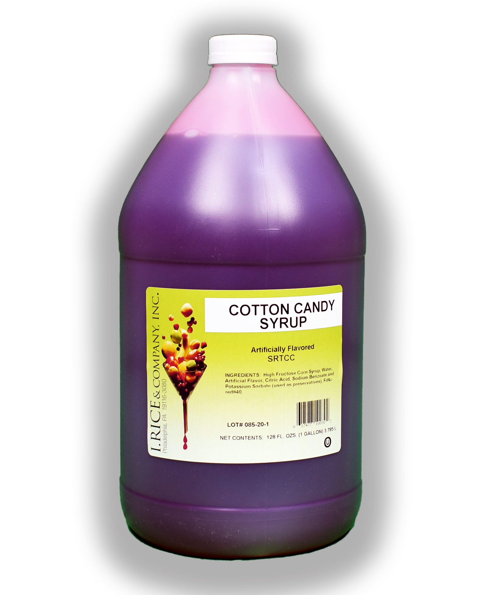 RICE COTTON CANDY SYRUP