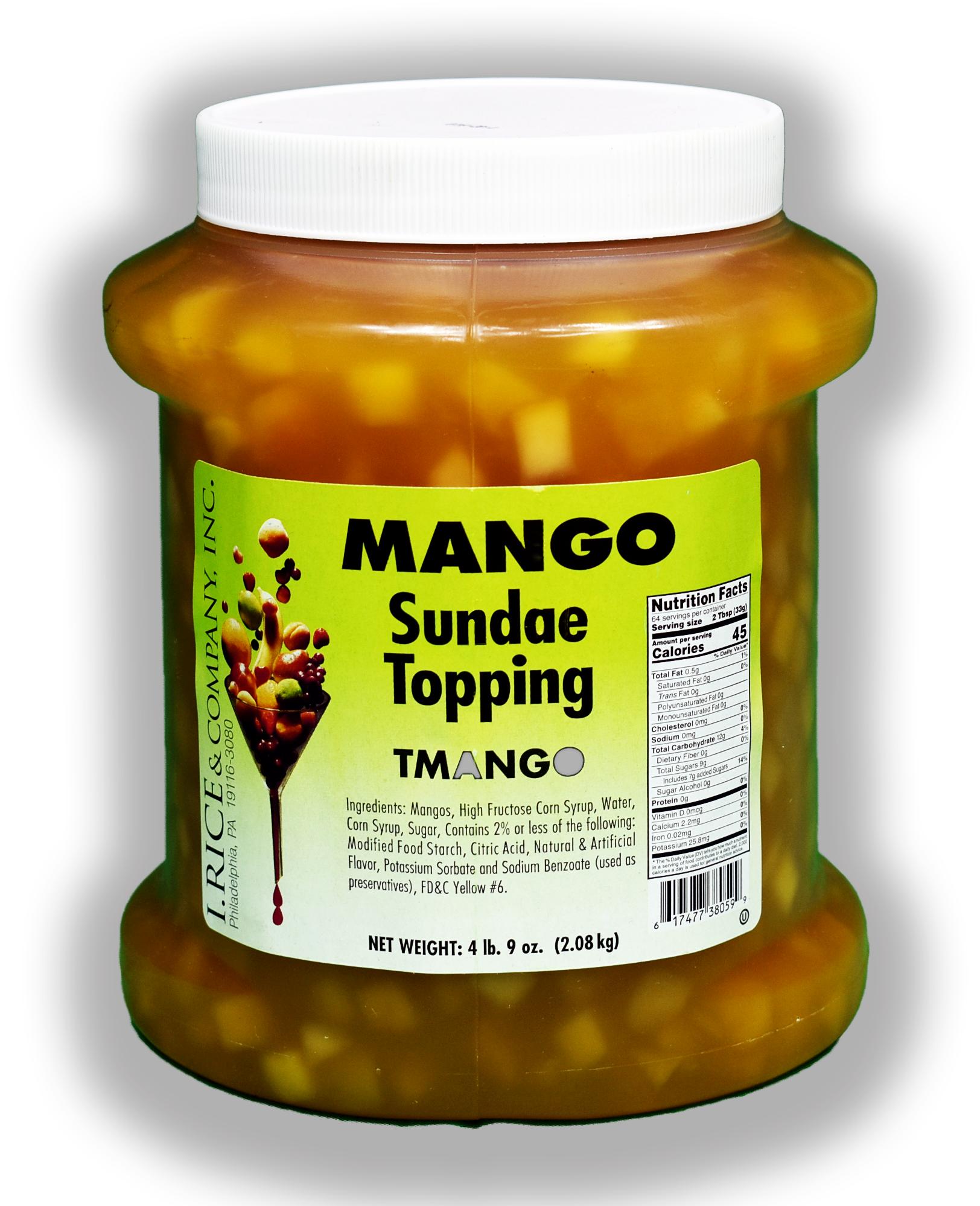 RICE MANGO TOPPING