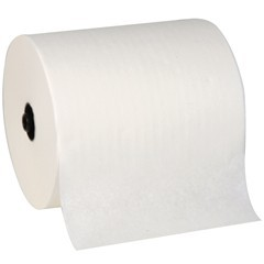 WHITE DISP ROLL TOWELS 7.8 X 300